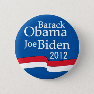 Obama - Biden 2012 Button