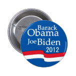 Obama - Biden 2012 Button