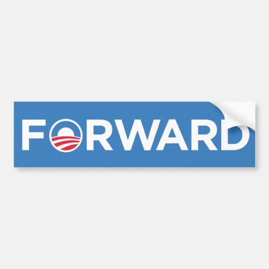 Obama Biden 2012 Election Forward Bumper Sticker