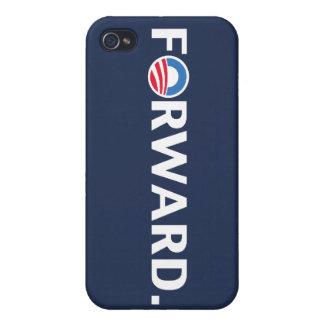 Obama Biden 2012 Forward Slogan White on Blue iPhone 4 Covers