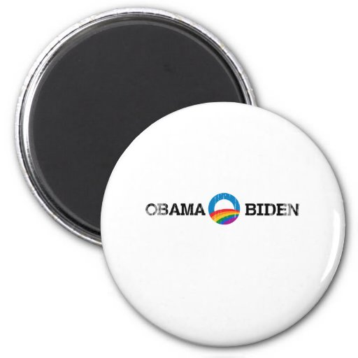 Obama Biden 2012 Pride - Vintage.png 6 Cm Round Magnet