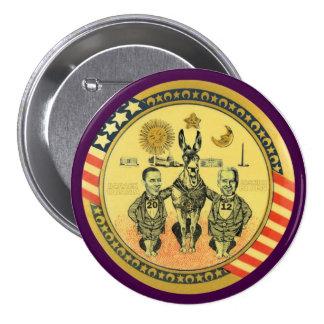 Obama Biden 2012 Washington, D.C. 7.5 Cm Round Badge