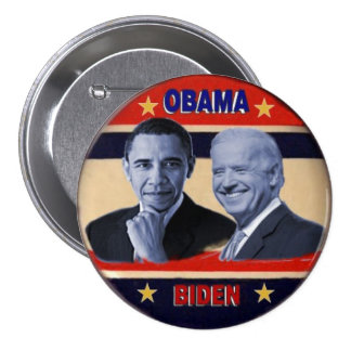 Obama / Biden 3-Inch Button