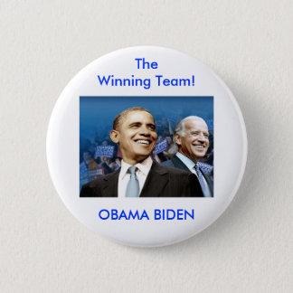 Obama Biden 6 Cm Round Badge