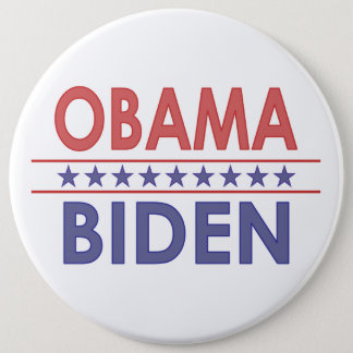 Obama-Biden 6 Cm Round Badge