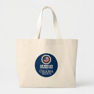 Obama Biden AFRICAN AMERICANS Bag