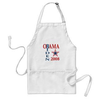 Obama Biden Cross 2008 Standard Apron