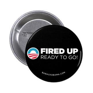 Obama Biden Fired Up Ready To Go Button Black