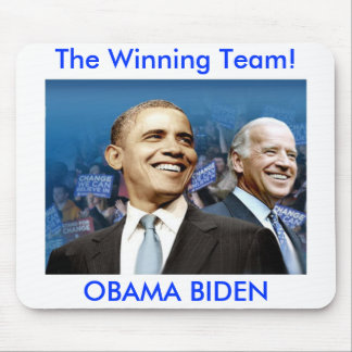 Obama Biden Mouse Pad