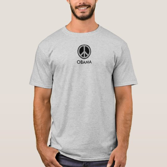OBAMA BIDEN PEACE SYMBOL T-Shirt