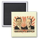 Obama Biden Portraits Magnet Magnet