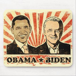 Obama Biden Portraits Mousepad
