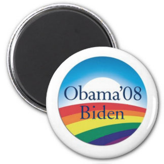 Obama Biden RAINBOW Magnet