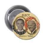 Obama/Biden Retro-style Button