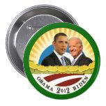 Obama & Biden Sunshine 7.5 Cm Round Badge