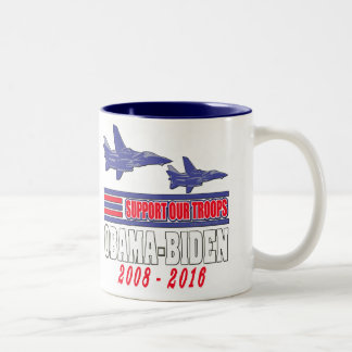 Obama Biden Support Our Troops Coffee Mug