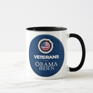Obama Biden VETERANS Mug