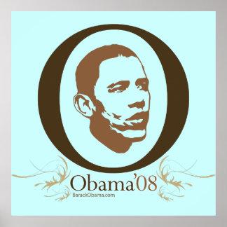 Obama Big O Poster