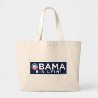 Obama bin Lyin' Canvas Bags