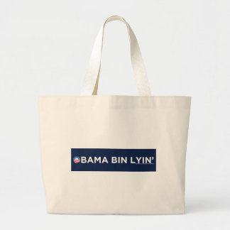 Obama bin Lyin' Tote Bags