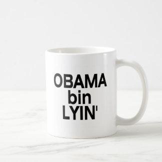 Obama bin Lyin' Basic White Mug