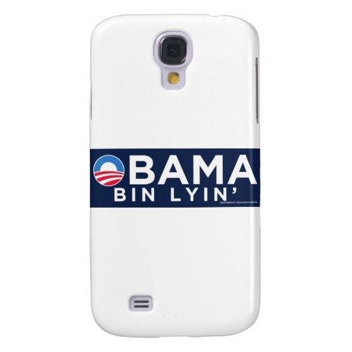 Obama bin Lyin' Galaxy S4 Cases