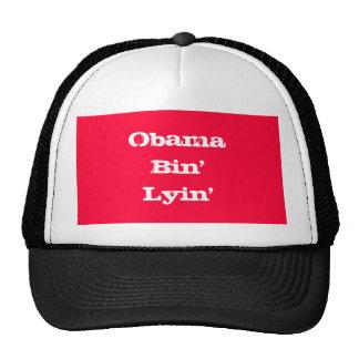 Obama Bin' Lyin' Mesh Hats