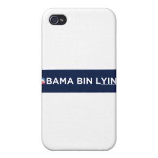 Obama bin Lyin iPhone 4 Cases