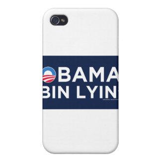 Obama bin Lyin iPhone 4 Cover