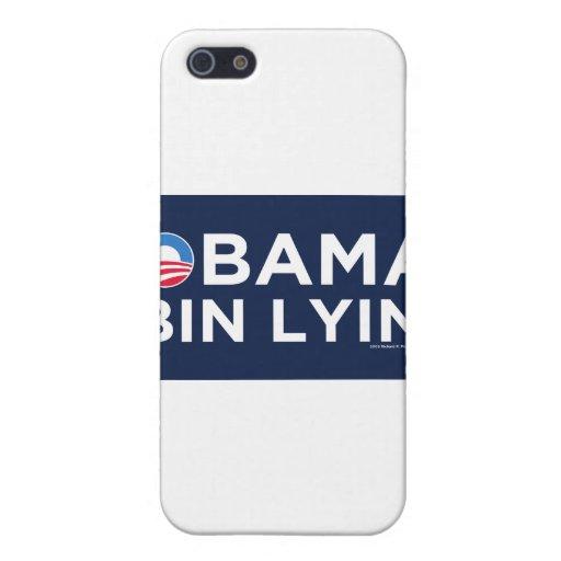 Obama bin Lyin' Cases For iPhone 5