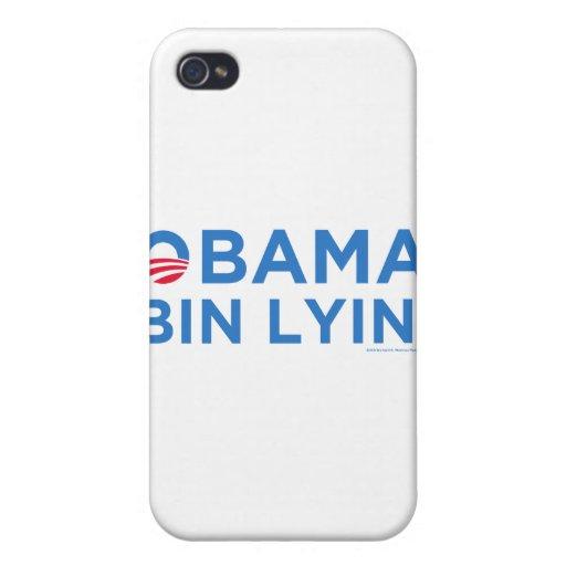 Obama bin Lyin' iPhone 4 Covers