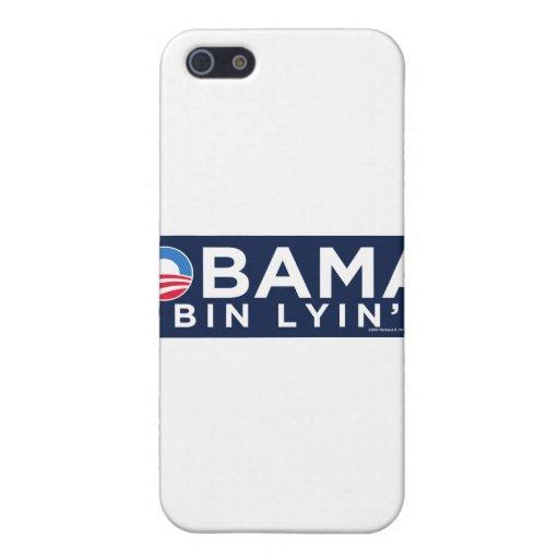 Obama bin Lyin' iPhone 5 Covers