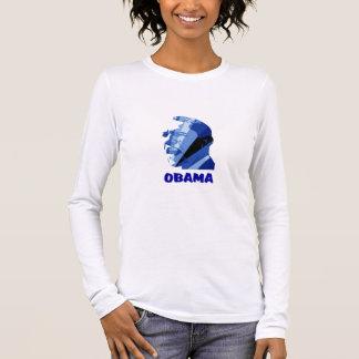 OBAMA BLUE LONG SLEEVE T-Shirt