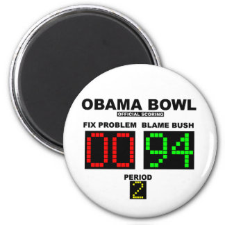 Obama Bowl - Official Scoring Magnet