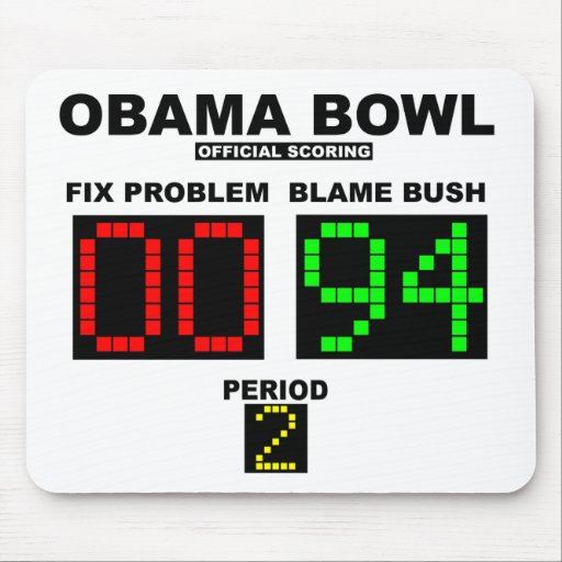 Obama Bowl - Official Scoring Mouse Pads