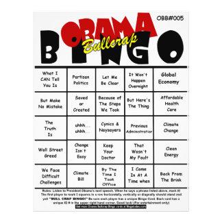Obama Bullcrap Bingo #005 & #006 21.5 Cm X 28 Cm Flyer