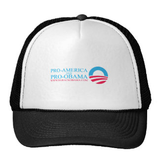 OBAMA-BUMPER MESH HATS