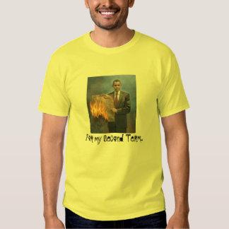 Obama Burns the Constitution Tshirt