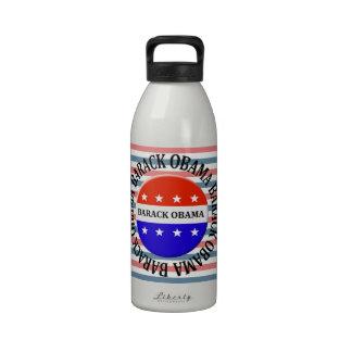 obama button drinking bottle