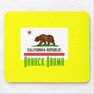 Obama California Flag Mousepad
