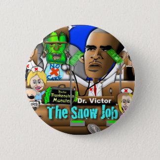 Obama Care 6 Cm Round Badge