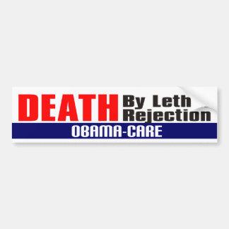 Obama-care Car Bumper Sticker