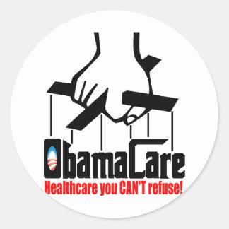Obama Care Healthcare you Can t Refuse Sticker