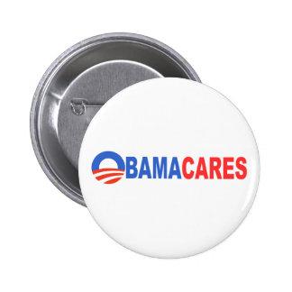 Obama Cares Pins