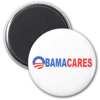 Obama cares magnets