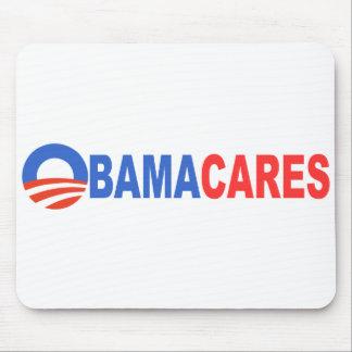 Obama Cares Mousepads