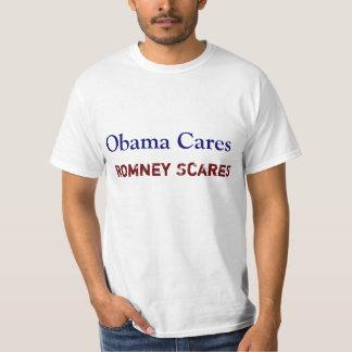 Obama Cares Romney Scares T-Shirt