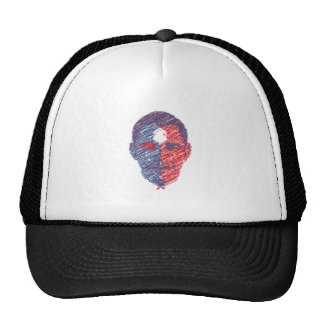 OBAMA-CARTOON MESH HATS