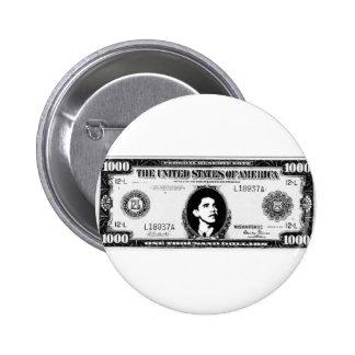 Obama Cash Button
