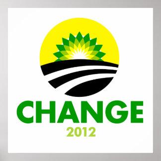 Obama Change 2010 Poster